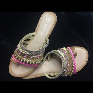 Chinese Laundry Pink Sandals - 7.5
